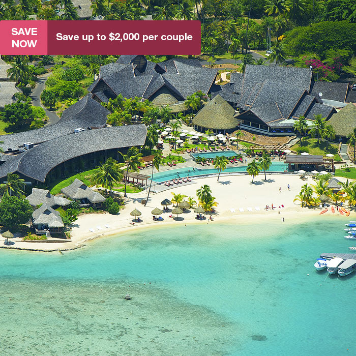 Intercontinental Island Getaway – Moorea Package
