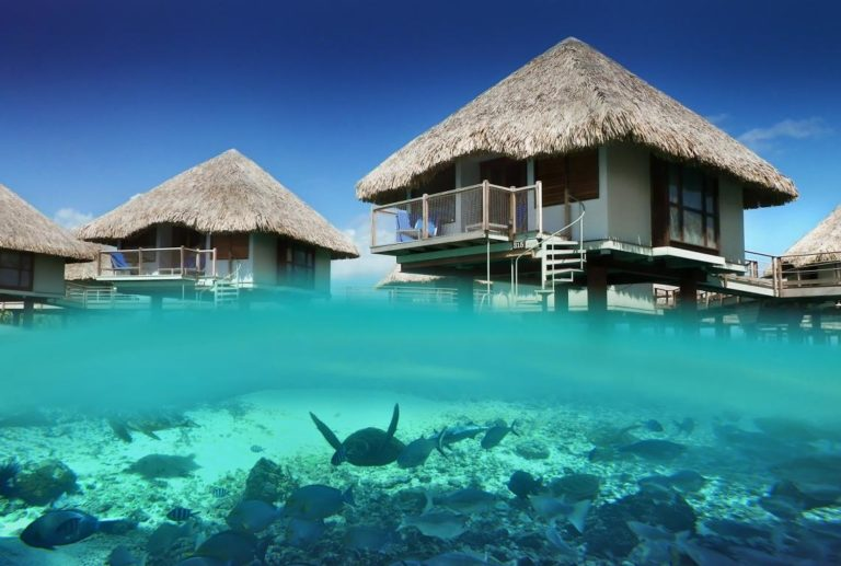Legendary Overwater Retreat in Bora Bora