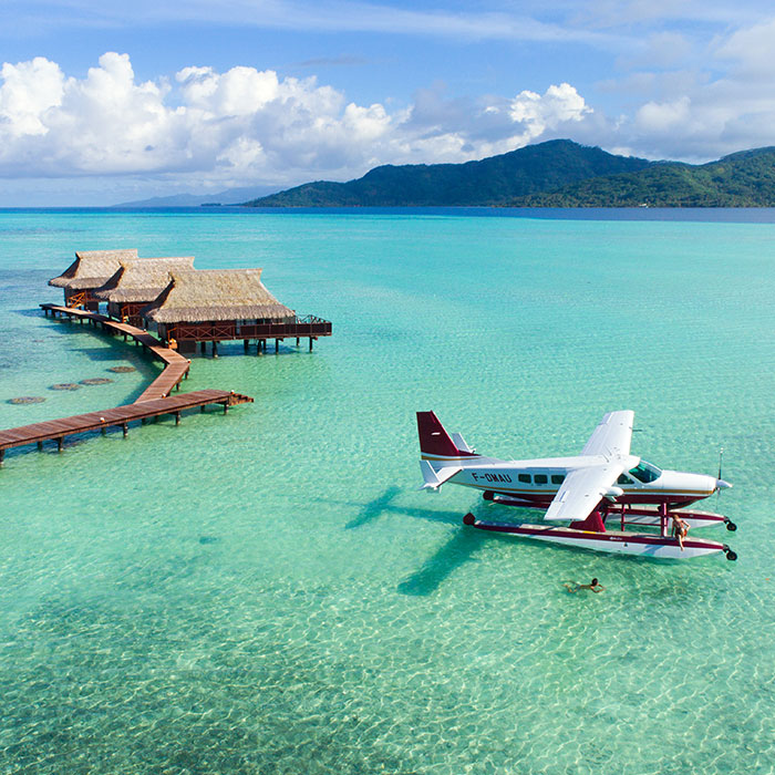 Moorea, Bora Bora and seaplane escape !
