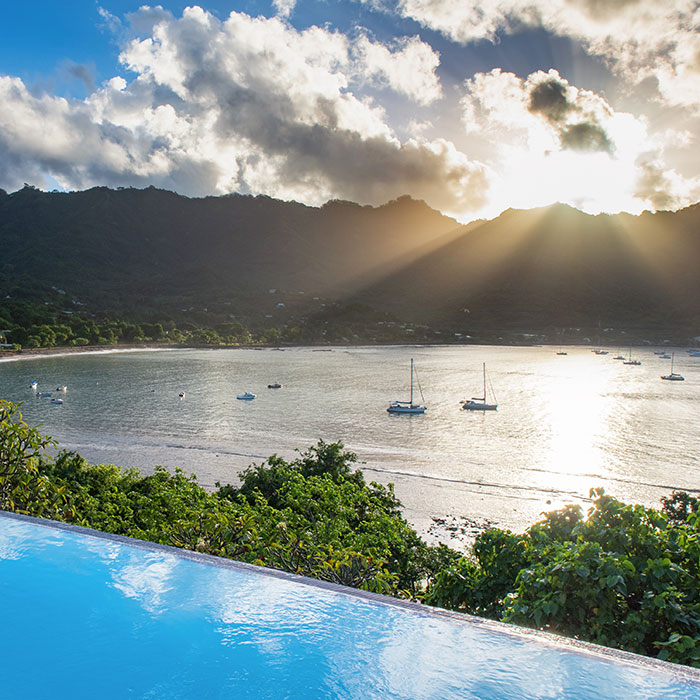 Romance in the Marquesas Islands
