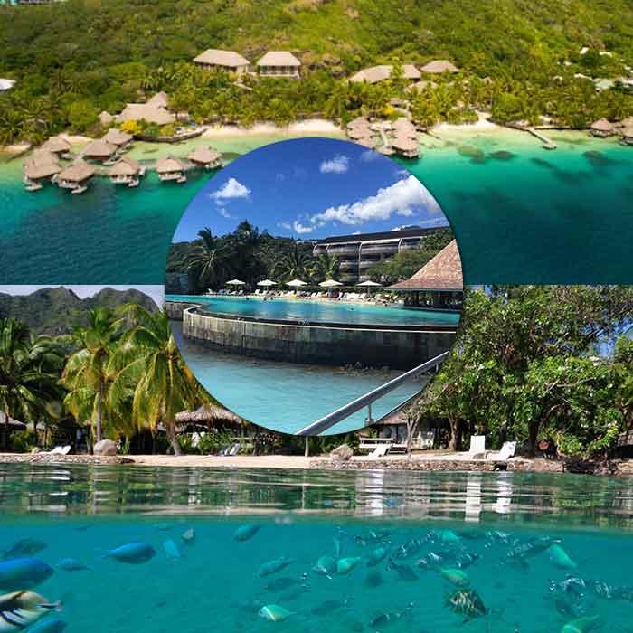 Island Hopper Combo Package (Bora Bora & Moorea)