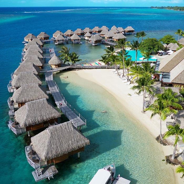 Manava Beach Resort & Spa Moorea – 7 Nights