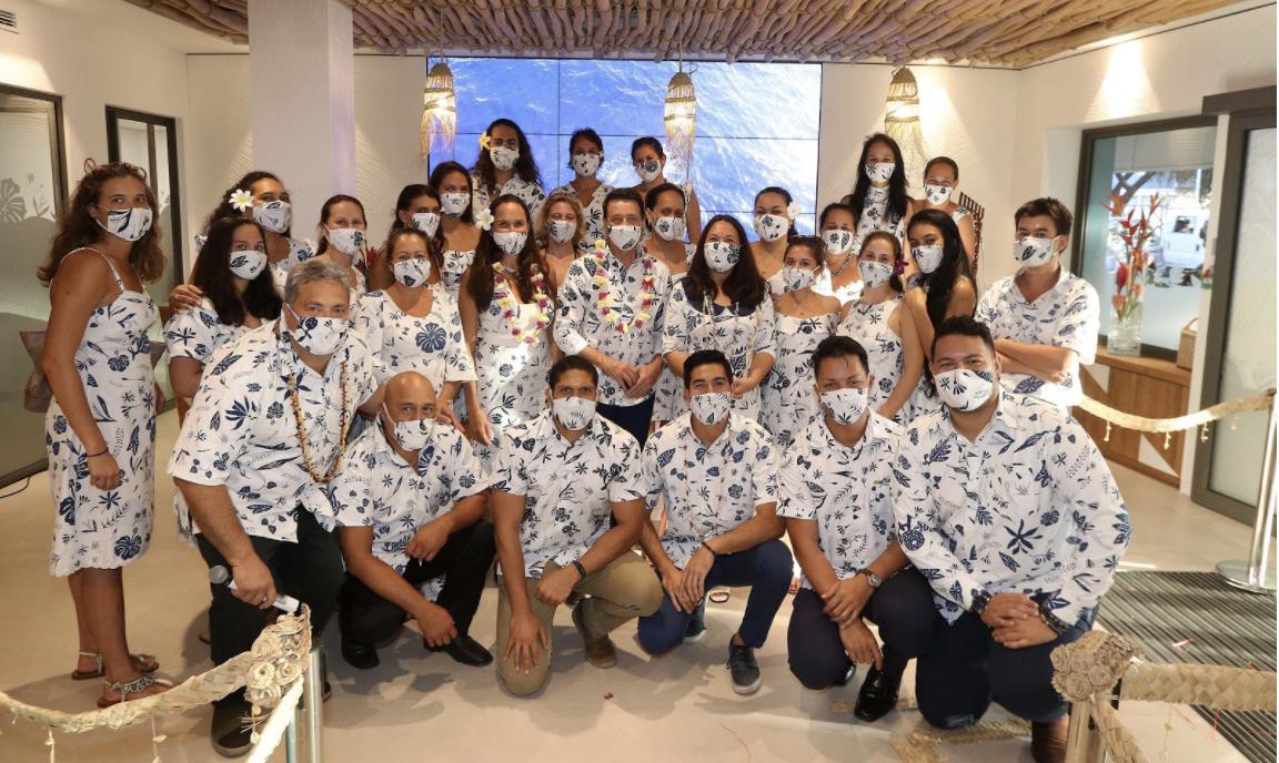 Tahiti Tourisme revealed its new Visitor's Bureau, or Fare Manihini