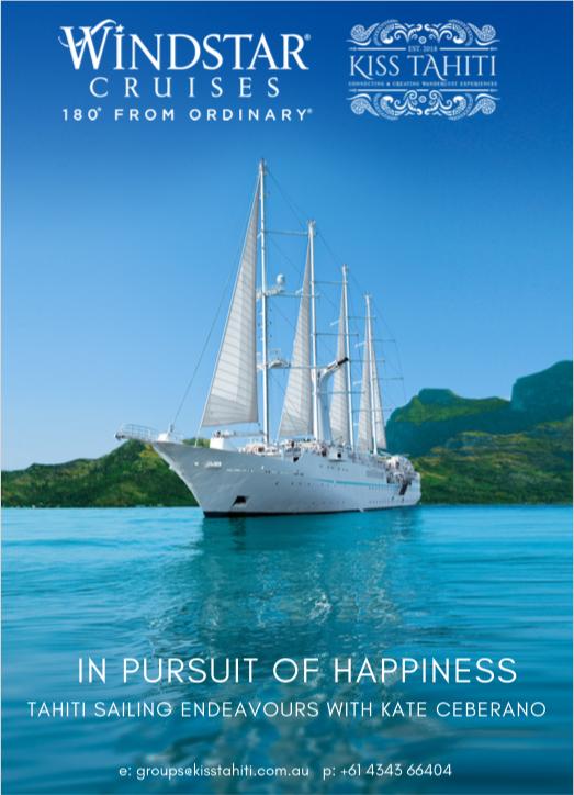 Tahiti Sailing Endeavours with Kate Ceberano