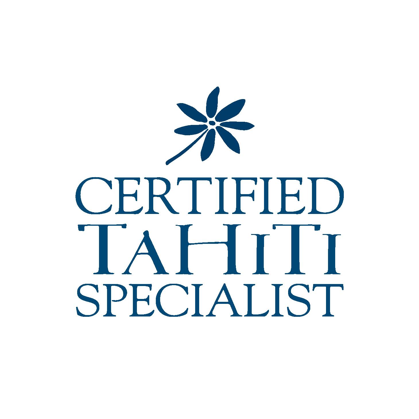 LOGO CERTIFIED TAHITI SPECIALIST